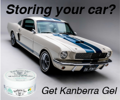 Storing your car? Get Kanberra Gel