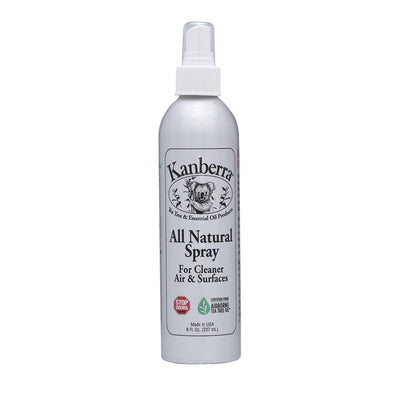 Kanberra All Natural Spray, Made with Certified Pure Tea Tree Oil, 8 fluid oz.