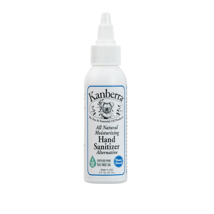 Kanberra All-Natural Moisturizing Hand Sanitizer Alternative Made with Real Tea Tree