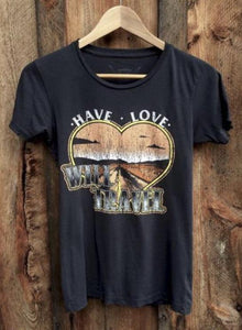 Have Love Will Travel Vintage Tee