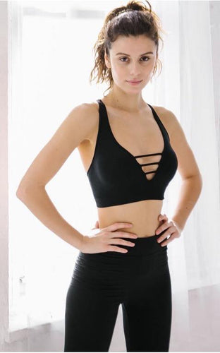 Ladder Racer Back  Bralette