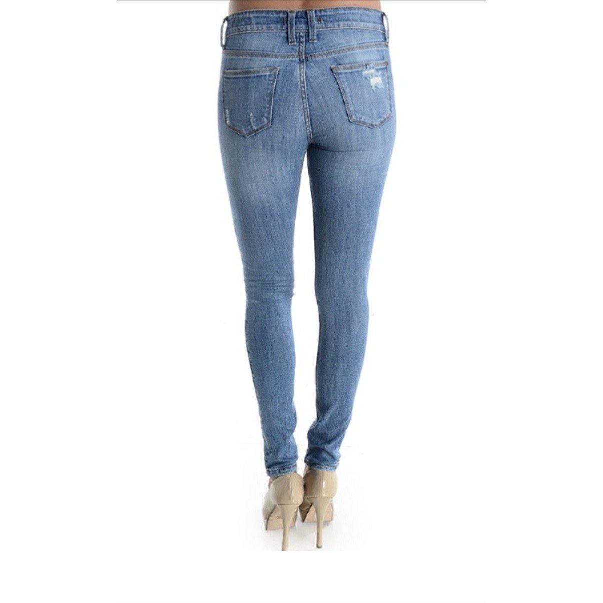 Maxwell Low Rise Skinny Jeans - Waylon + Willie Boutique
