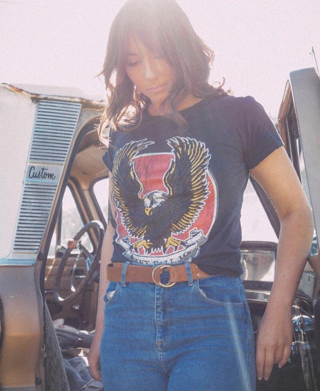 The Breeze Tee - Waylon + Willie Boutique
