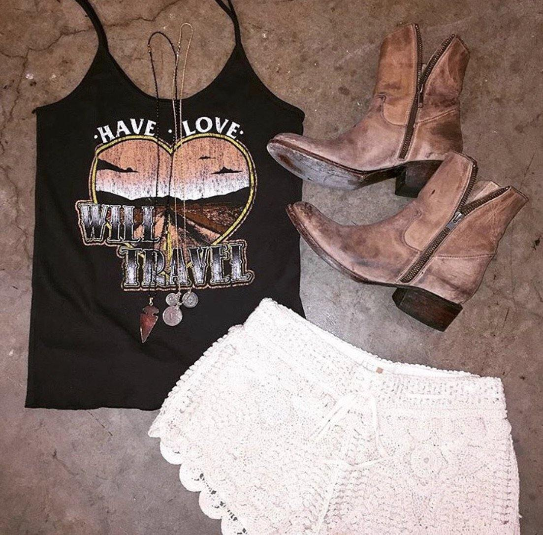 Have Love Will Travel Sissy Tank