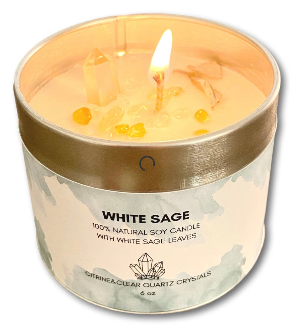 White Sage Cleansing Candle