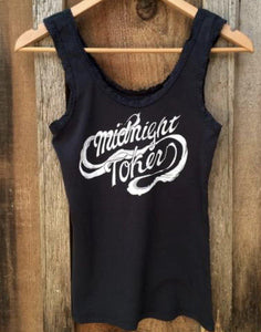 Midnight Toker Lace Tank