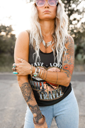 Have Love Will Travel Lace Tank