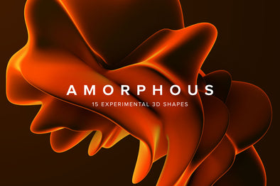 Amorphous: 15 Experimental 3D Shapes-Chroma Supply