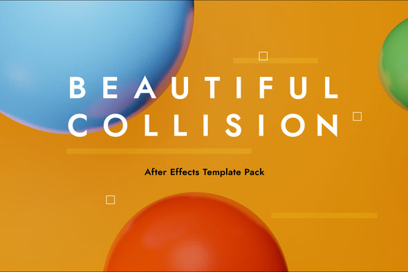 Beautiful Collision: An After Effects Template Pack-Chroma Supply