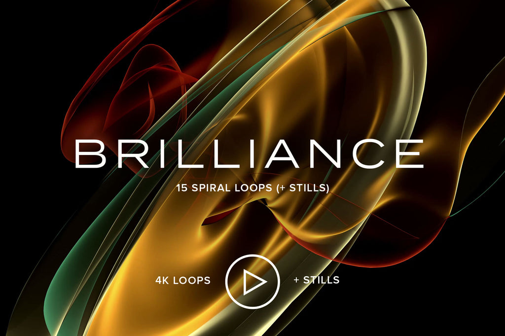 Brilliance: 15 Spiral Loops (+ Stills)-Chroma Supply