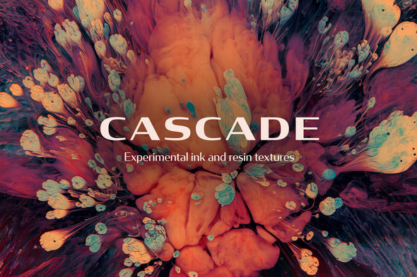 Cascade: Experimental Ink and Resin Textures-Chroma Supply
