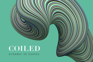 Coiled: Twisting 3D Shapes-Chroma Supply