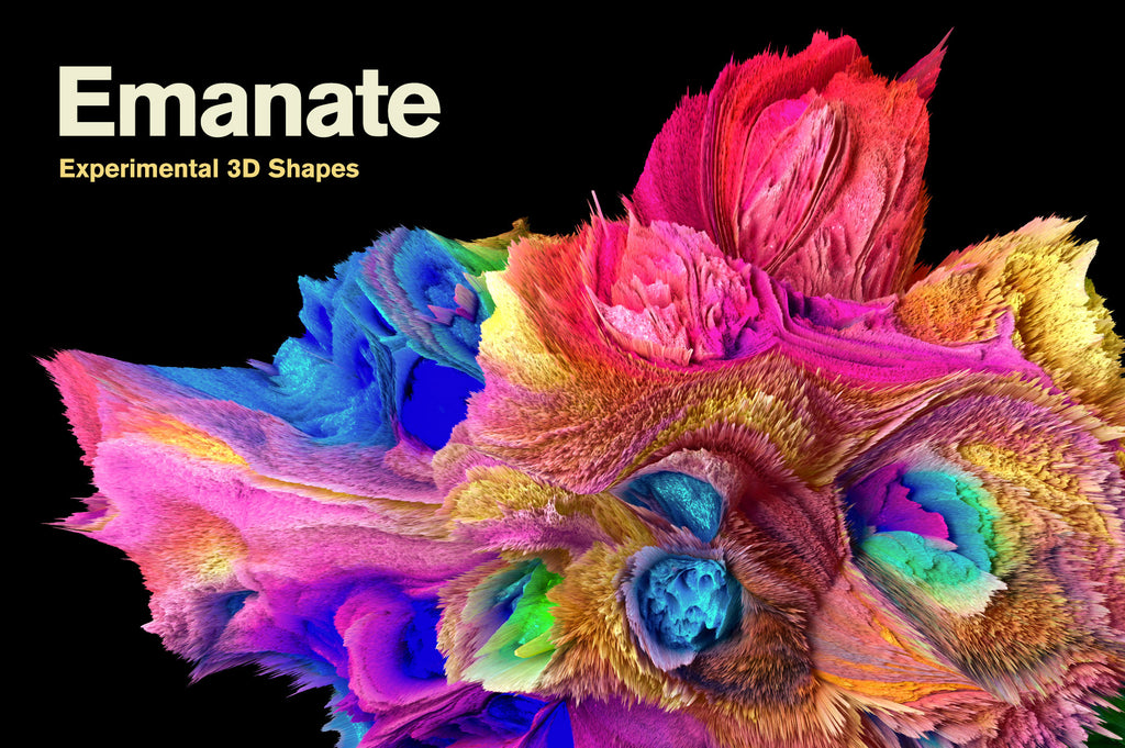 Emanate: Experimental 3D Shapes-Chroma Supply