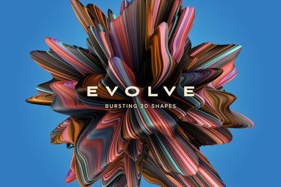 Evolve: Bursting 3D Shapes-Chroma Supply