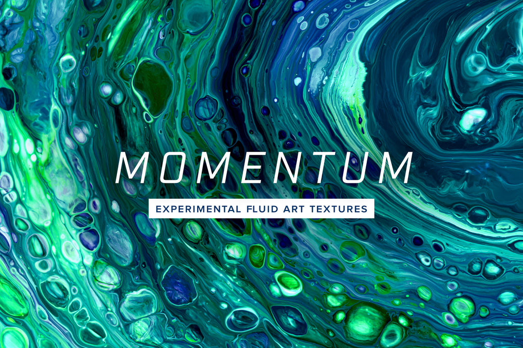 Momentum: 8K Experimental Fluid Art Textures-Chroma Supply