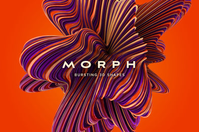 Morph: Bursting 3D Shapes-Chroma Supply