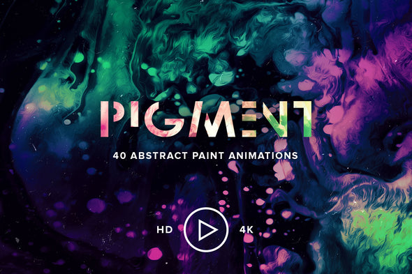 Pigment: 40 Abstract Paint Loops