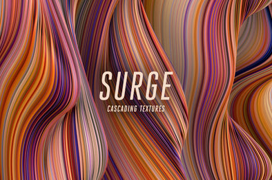 Surge: Fluid Cascading Textures-Chroma Supply