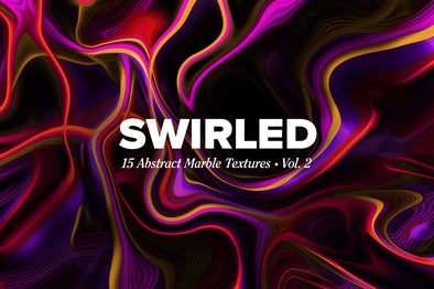 Swirled, Vol. 2: 15 Abstract Marbled Textures-Chroma Supply