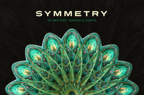 Symmetry: 15 Abstract Mandala Shapes