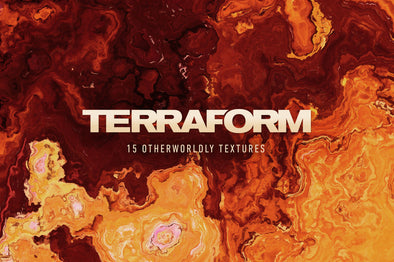Terraform: 15 Otherworldly Textures-Chroma Supply