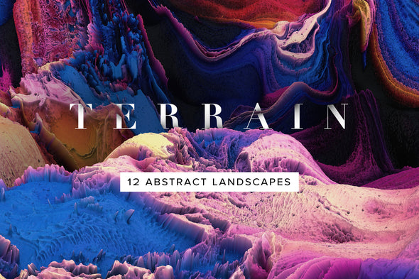 Terrain: Abstract 3D Landscapes