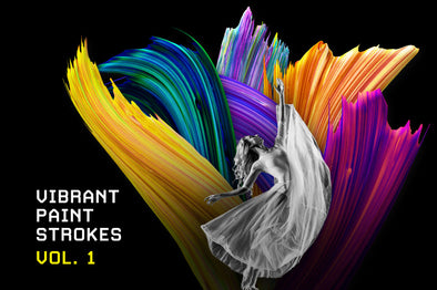 Vibrant Paint Strokes, Vol. 1-Chroma Supply