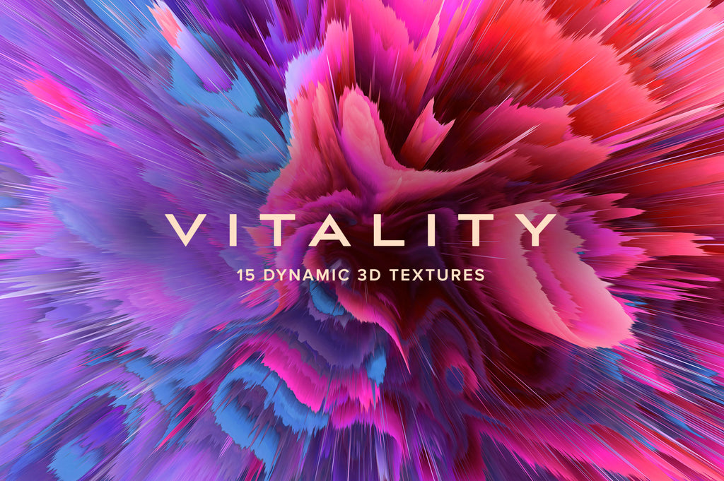 Vitality: 15 Dynamic Textures-Chroma Supply