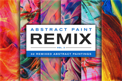 Abstract Paint Remix, Vol. 2-Chroma Supply