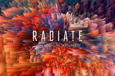 Radiate: Energetic 3D Textures-Chroma Supply