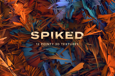 Spiked: Pointy 3D Textures-Chroma Supply