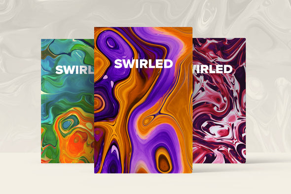 Swirled: 15 Abstract Marbled Textures