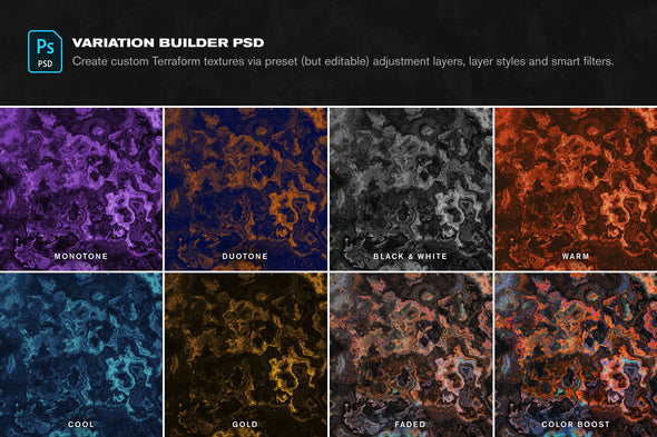 Terraform: 15 Otherworldly Textures