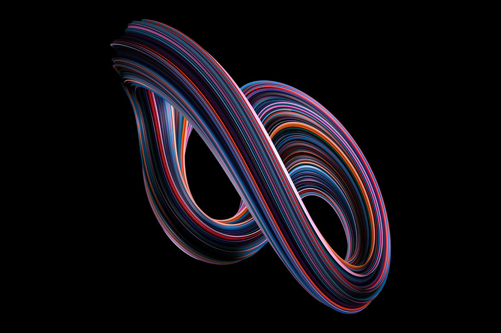 Twist: Swirling 3D Shapes-Chroma Supply