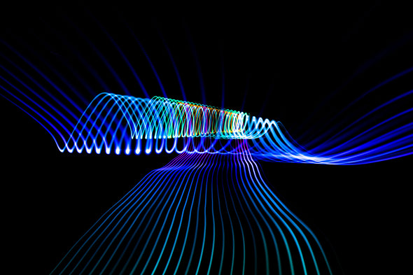 Shock: Abstract Long Exposures-Chroma Supply