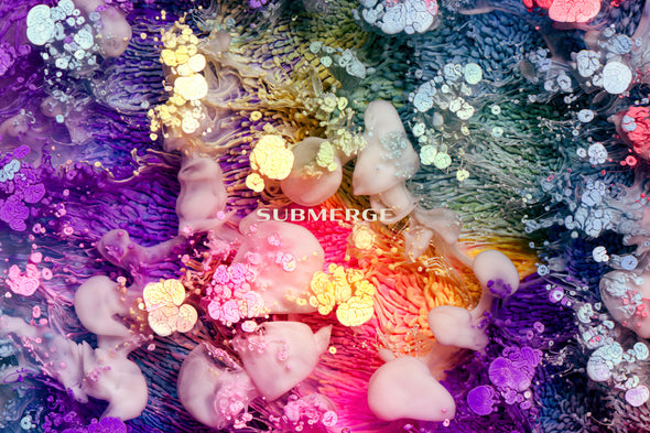 Submerge: Experimental Ink and Resin Textures-Chroma Supply