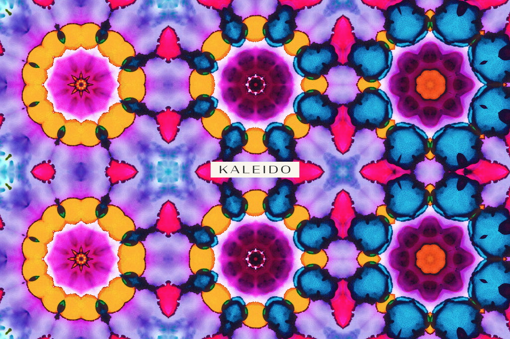 Kaleido: 25 High Resolution Kaleidoscopic Textures-Chroma Supply