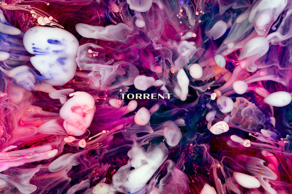 Torrent: Experimental Ink and Resin Textures-Chroma Supply