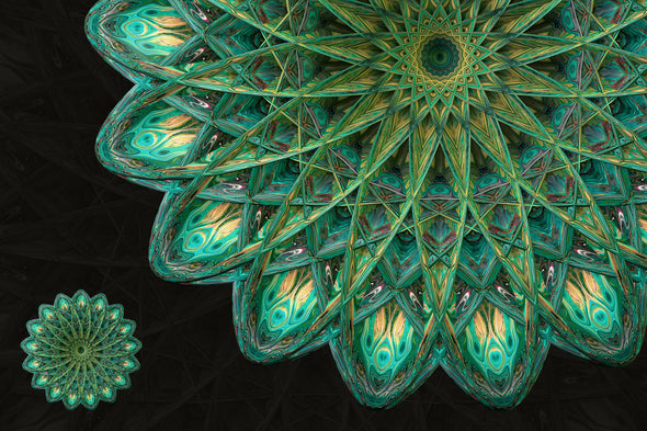 Symmetry: 15 Abstract Mandala Shapes-Chroma Supply