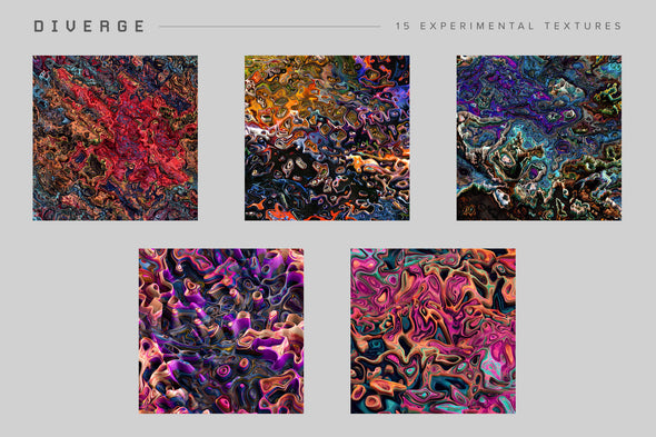 Diverge: 15 Experimental Textures-Chroma Supply
