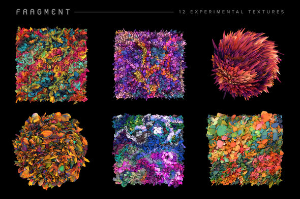 Fragment: 12 Experimental Textures-Chroma Supply