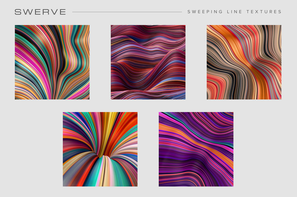 Swerve: Sweeping Line Textures-Chroma Supply