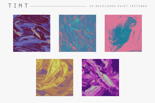 Tint: Recolored Paint Textures-Chroma Supply