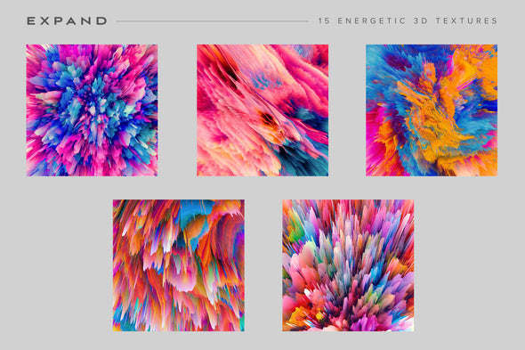 Expand: Energetic 3D Textures-Chroma Supply