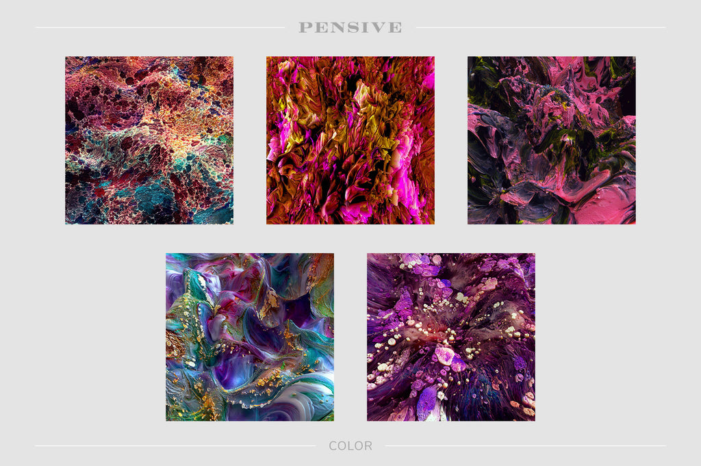 Pensive: Experimental 3D Paint Textures-Chroma Supply