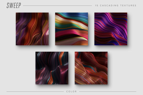 Sweep: Glossy Cascading Textures-Chroma Supply