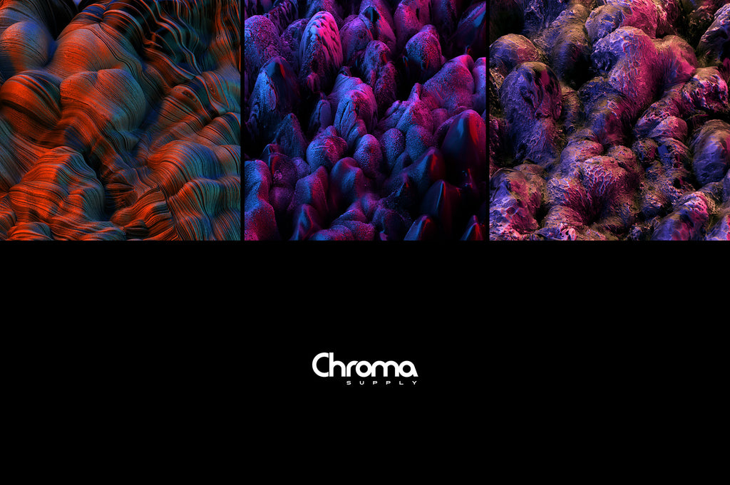Contort: Experimental 3D Textures-Chroma Supply
