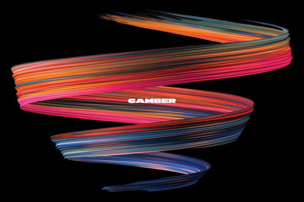 Camber: Energetic 3D Paint Strokes-Chroma Supply