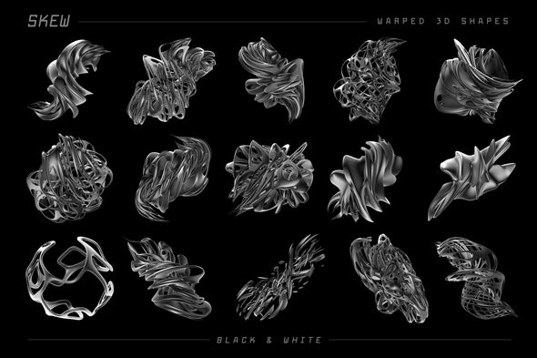 Skew: 105 Warped 3D Shapes-Chroma Supply