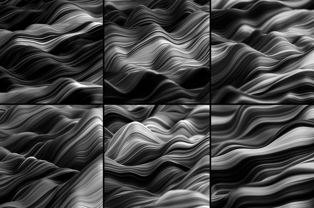 Ripple: Fluid Wavy 3D Lines-Chroma Supply
